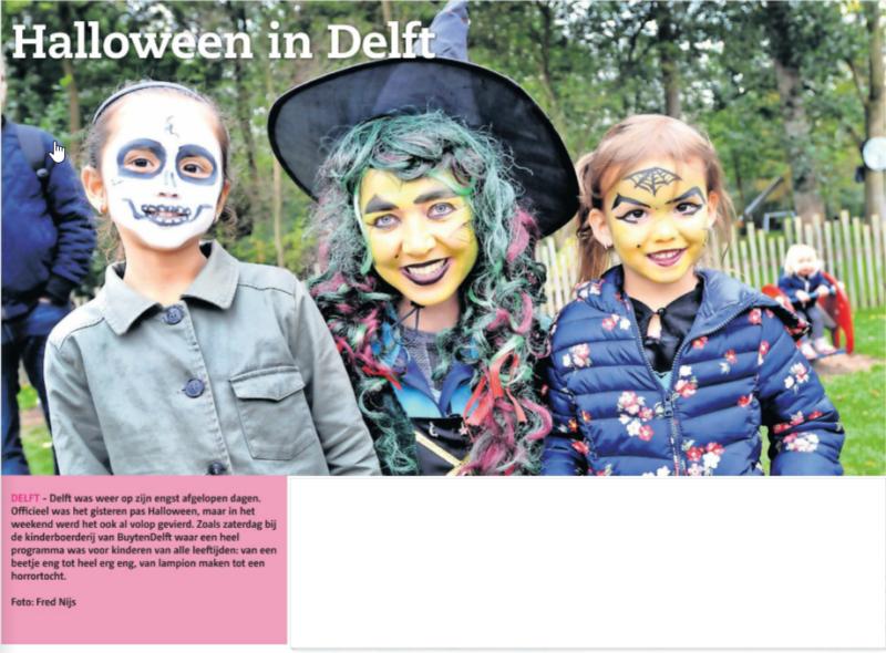 Halloween bij BuytenDelft